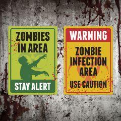 Placa Stay Alert / Warning