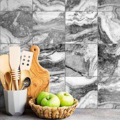 Revestimento Adesivo Blocos Marble Gray