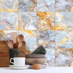 Revestimento Adesivo Blocos Marble Venetto