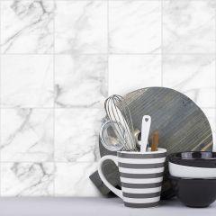 Revestimento Adesivo Blocos Marble White