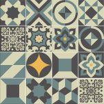 Adesivo para Azulejo - Hidráulico 02 - Vert