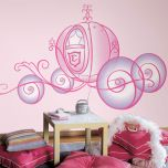 Adesivo Carruagem Princesas - Disney