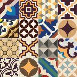 Adesivo para Azulejo - Hidráulico Colors