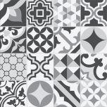 Adesivo para Azulejo - Hidráulico Gris