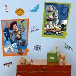 Adesivo Woody & Buzz Toy Story - Disney