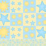 Border Adesivo Stars