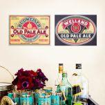 Placa Budweiser / Welland