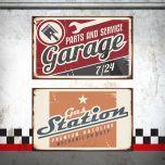 Placa Garage / Gas Station