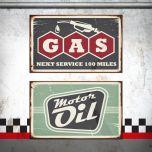 Placa Gas / Motor Oil