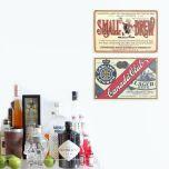Placa Small Brew / Canadian Club
